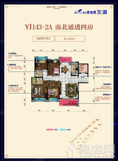 YJ143-2A户型