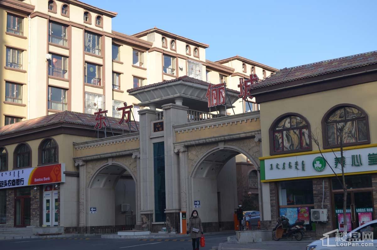 东方俪城实景图