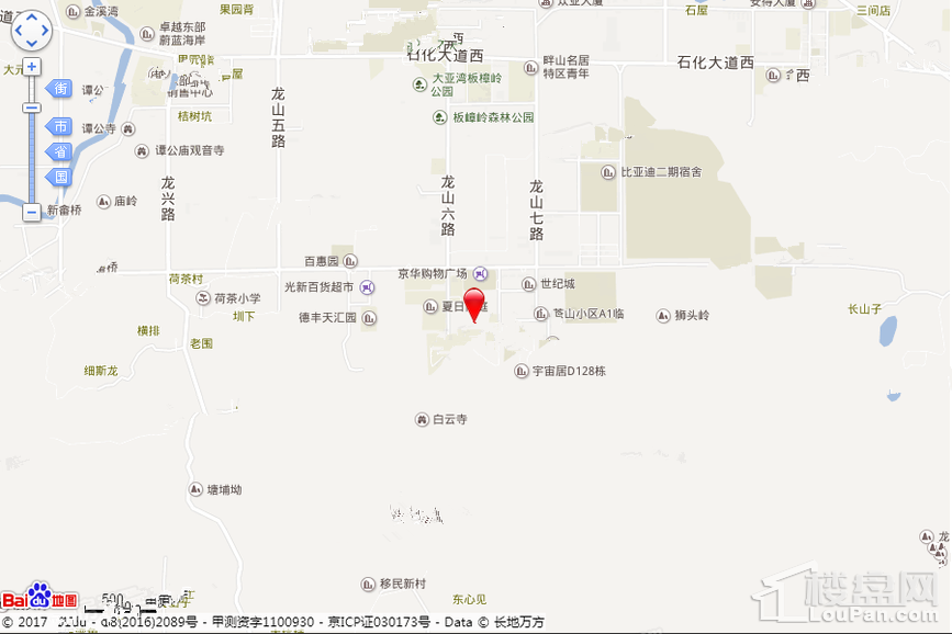 惠州博林腾瑞位置图