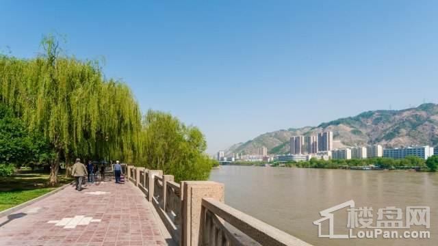 南滨河路风景