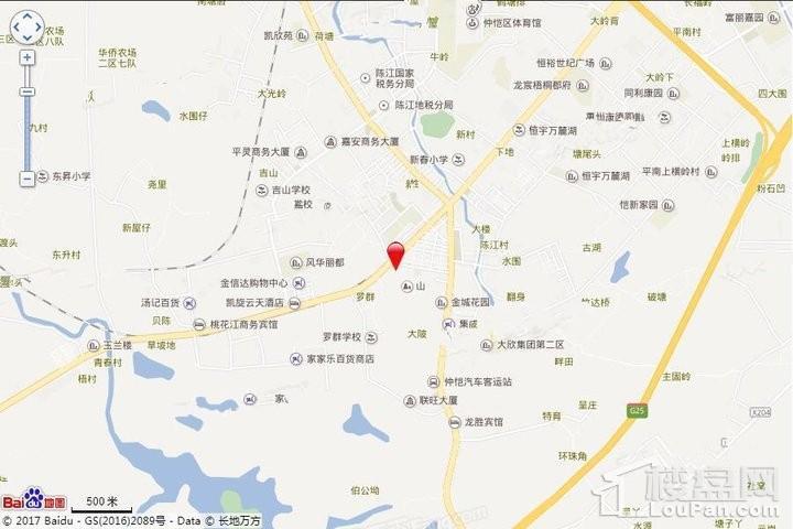 米可社区位置图