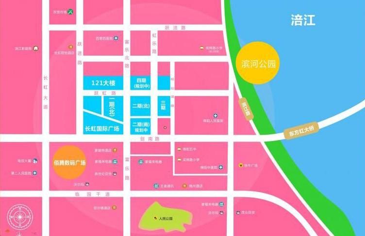 长虹国际城四期效果图