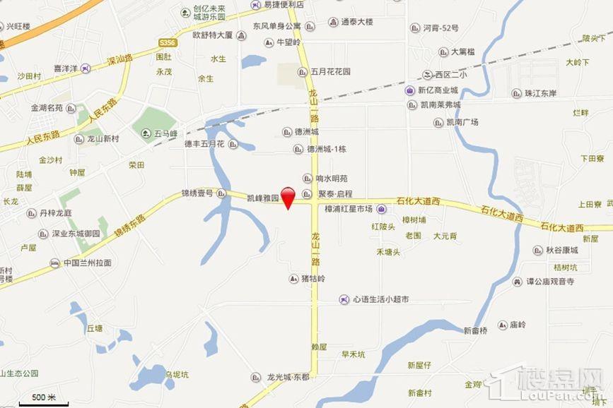 惠州富康·锦绣壹号位置图
