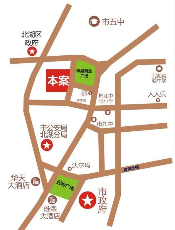 燕泉中心位置图
