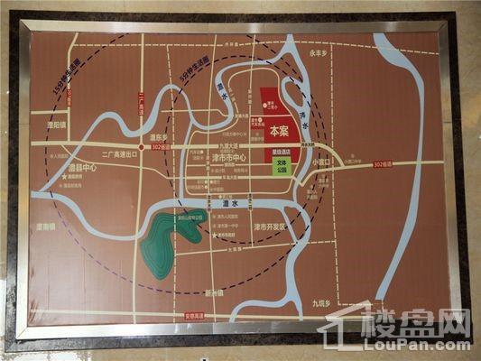 丰华城位置图