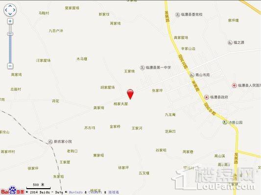 长安御景城位置图