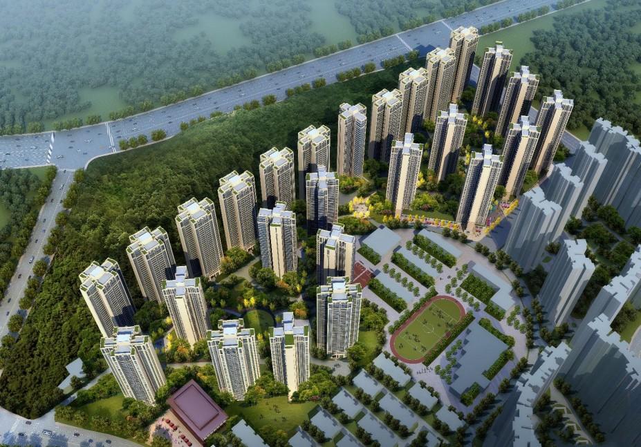 绿地•新里城效果图