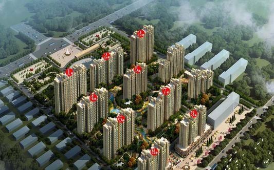 中国铁建明山秀水效果图