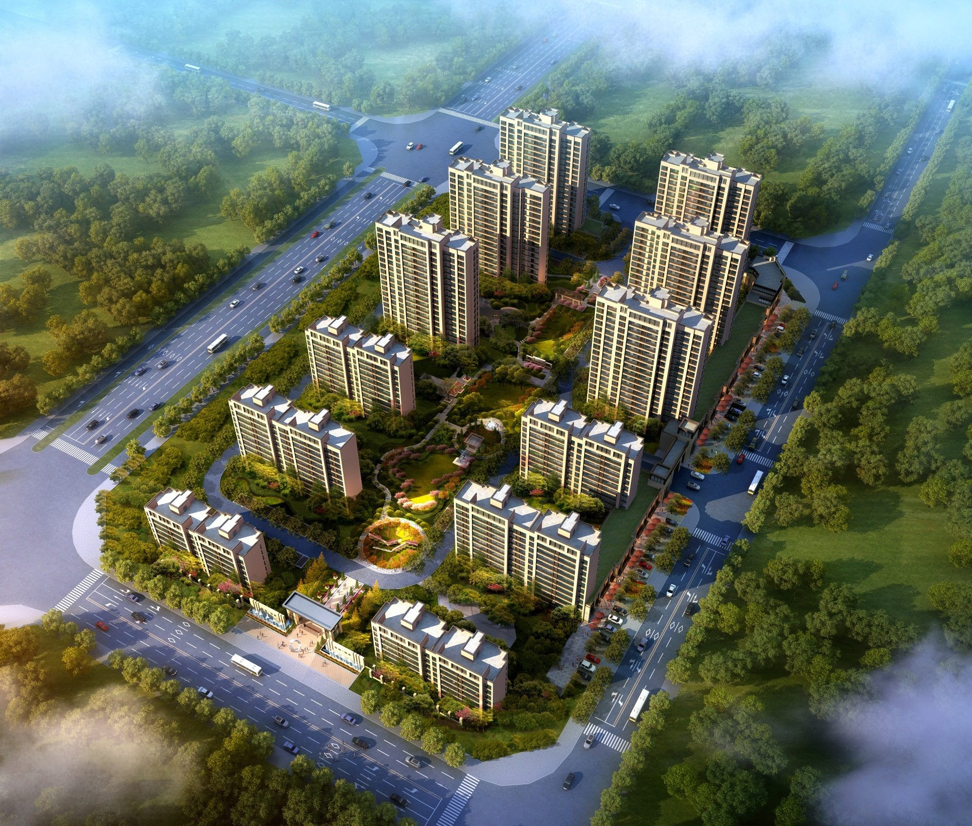 滁州益林·名府高清图