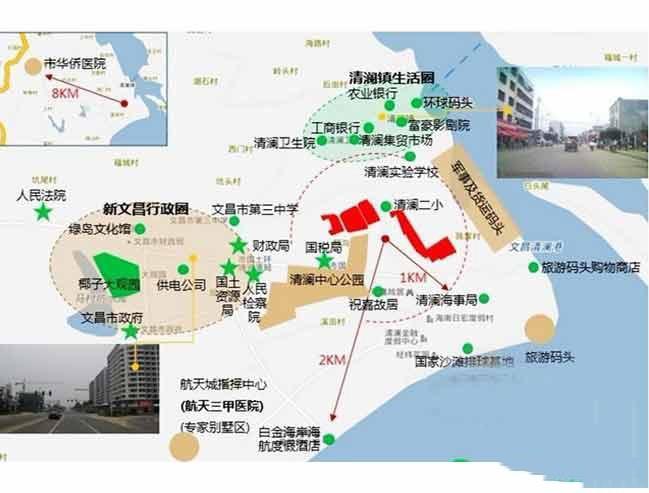 正商红椰湾位置图