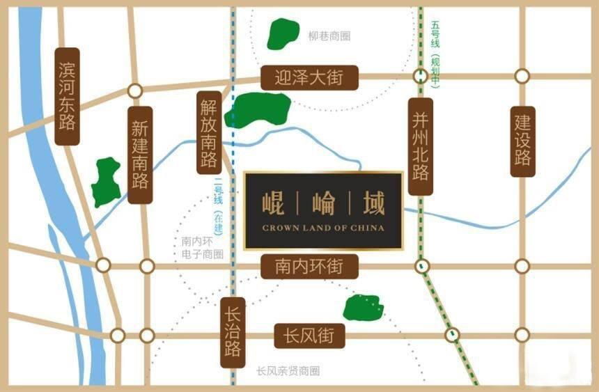 华润·昆路域位置图