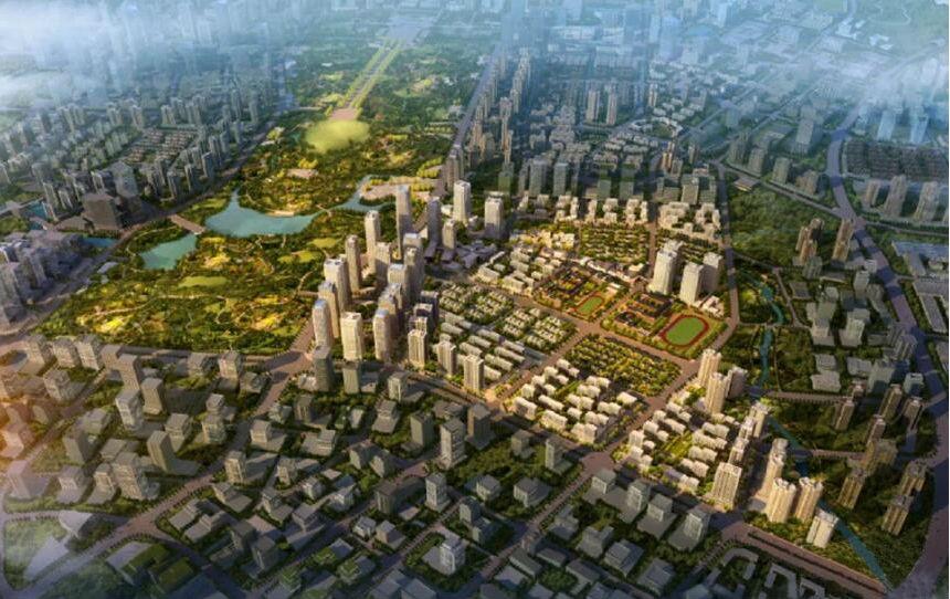 重庆中交中央公园高清图