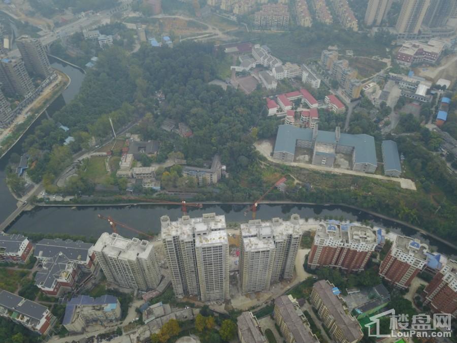 铭汇·廊桥水岸鸟瞰图
