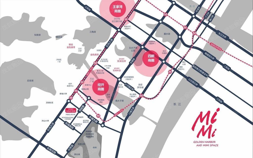 金色港湾MIMI空间位置图