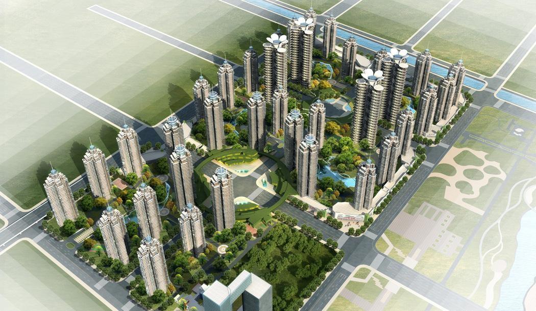 武汉国博新城翘楚居效果图
