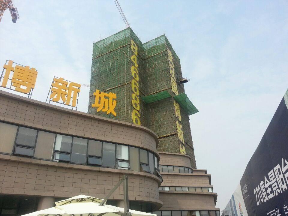 武汉国博新城翘楚居实景图