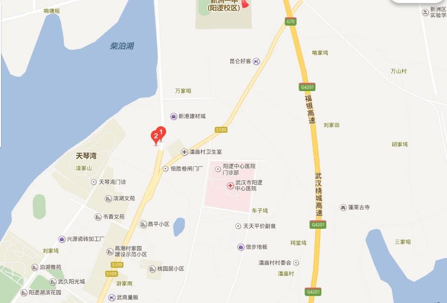 德雅国际城港龙湾位置图