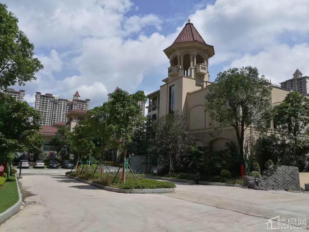 绿湖国际城实景图