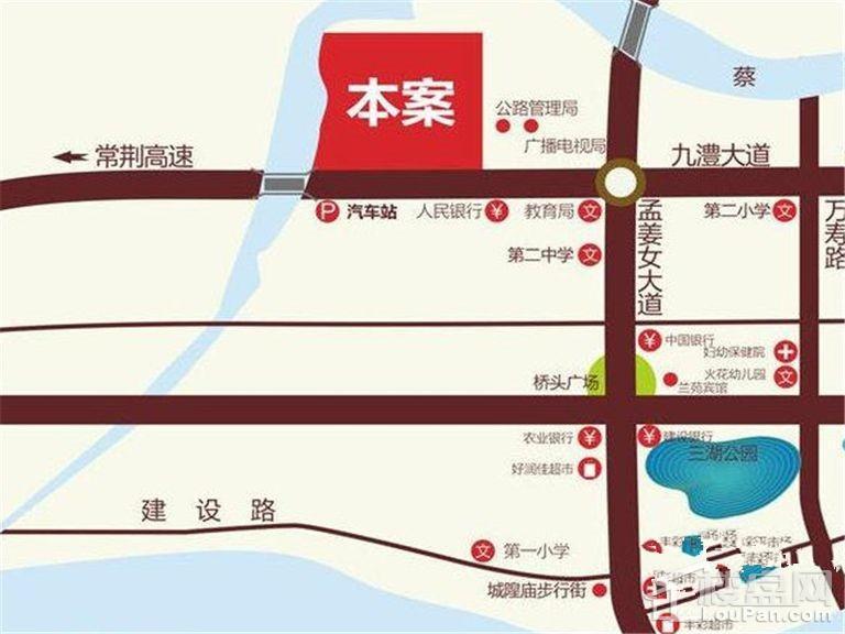 鑫大·国际名苑位置图