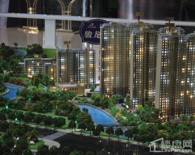 大汉龙城营销中心实景图