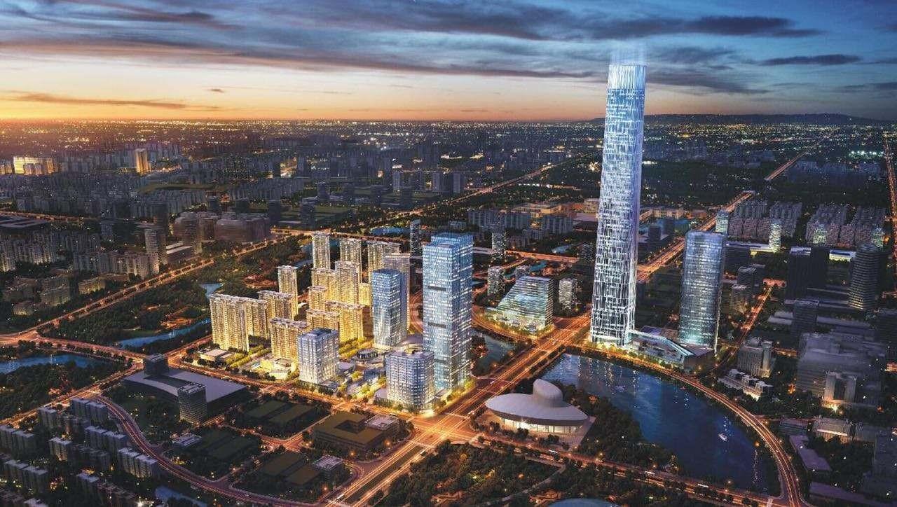 武汉绿地光谷中心城高清图