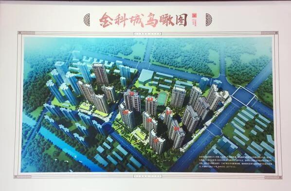 武漢金科城高清圖