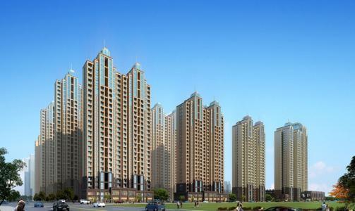 武汉万福国际广场高清图