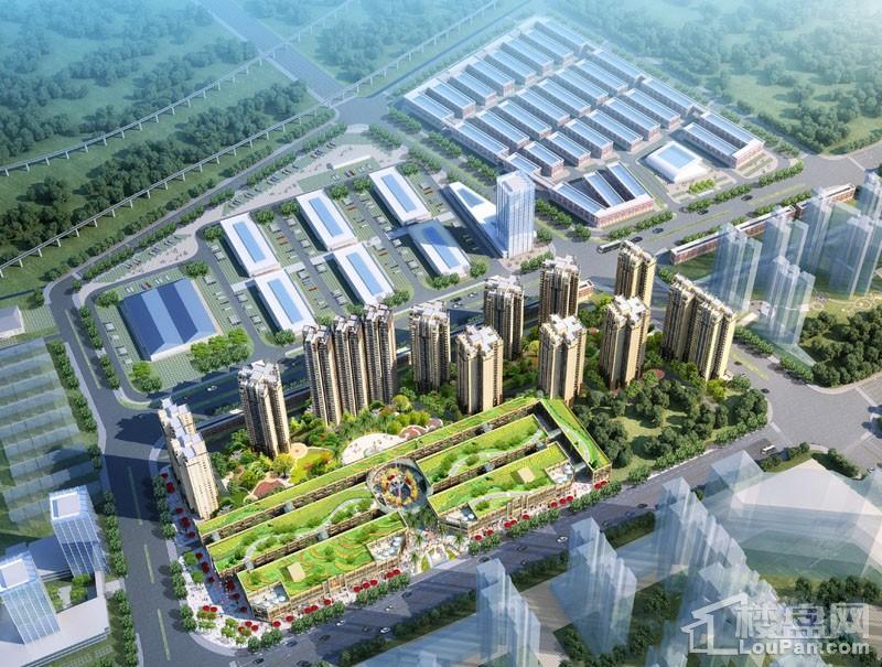 桂林义乌国际商贸城效果图