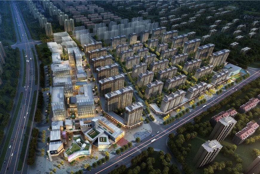 武汉北辰蔚蓝城市高清图