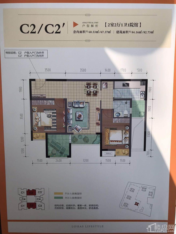 C2/C2'户型