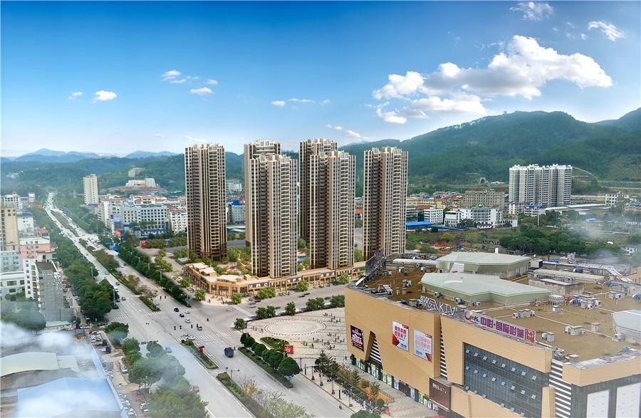 碧桂园城央府实景图