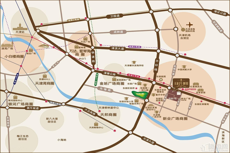 东丽御园位置图