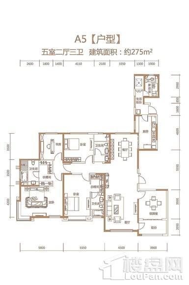 天津恒大帝景户型图