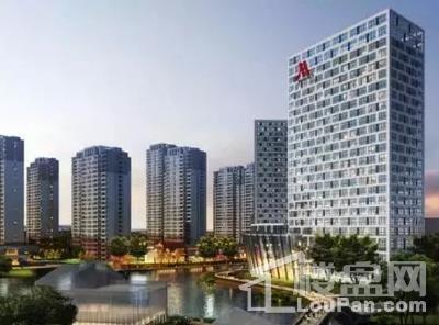 泛华东福城实景图