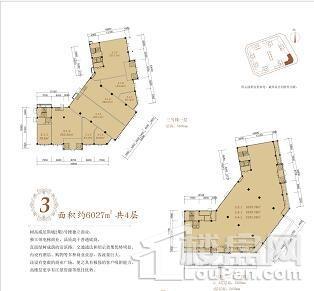 树高威尼斯商铺户型图