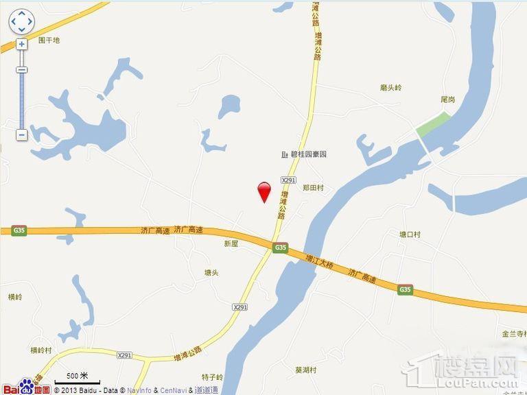 碧桂园豪园位置图