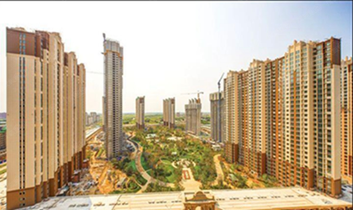 哈尔滨万达城实景图