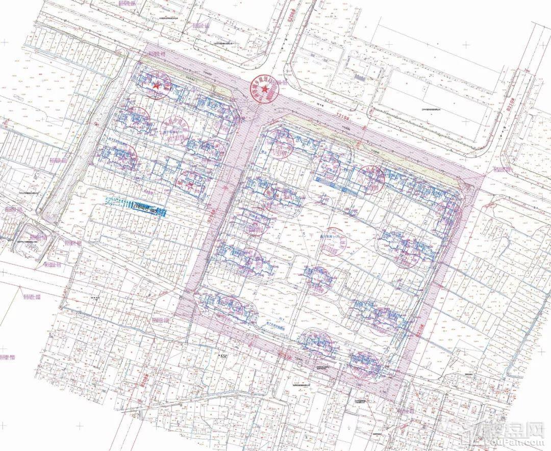 华润誉澜山建筑工程设计方案总平面图
