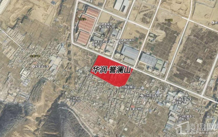 华润誉澜山位置图