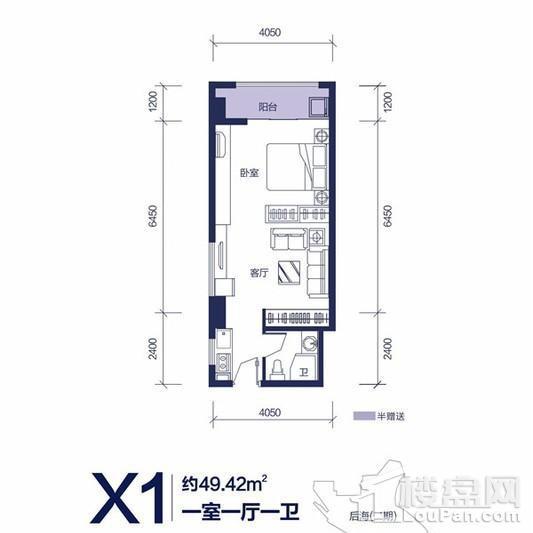 海盟御锦豪庭公寓户型图