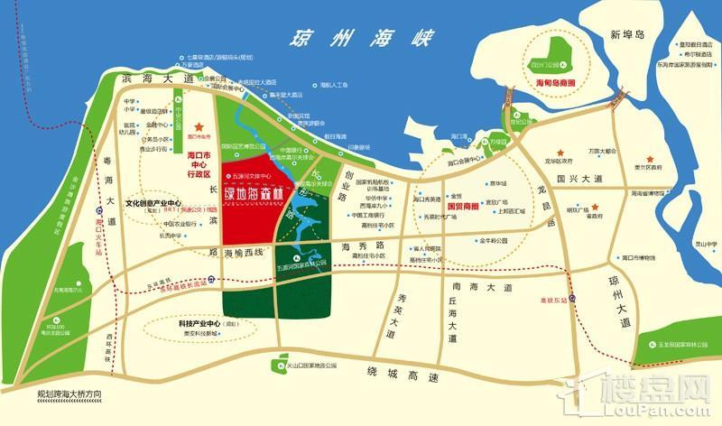 绿地文化城位置图