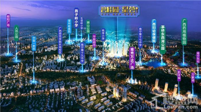 南宁碧桂园星荟位置图