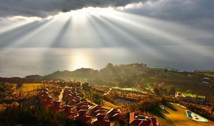 万科抚仙湖国际旅游度假区实景图