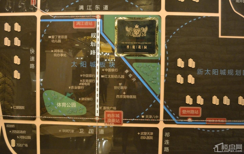 香缇花园位置图