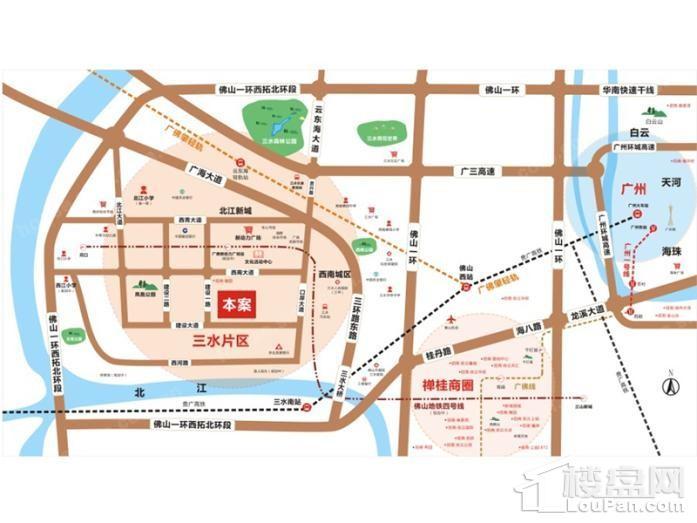 新城招商誉府位置图