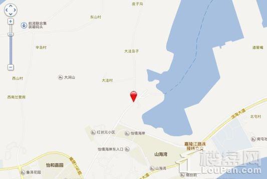 颐海蓝湾位置图