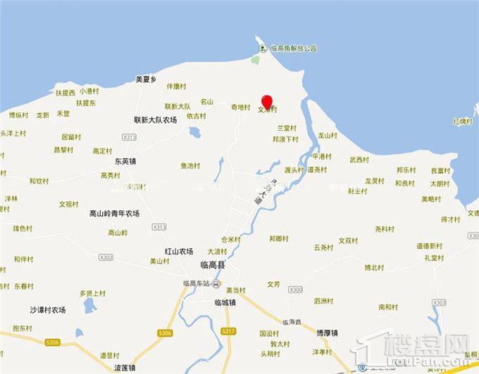 富力·悦海湾位置图