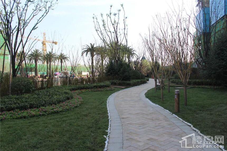 呼和浩特恒大绿洲实景图