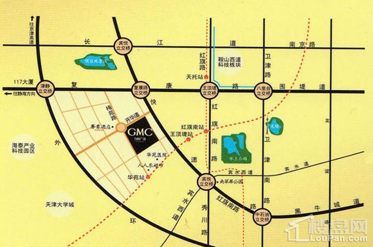 天津科技金融大厦位置图