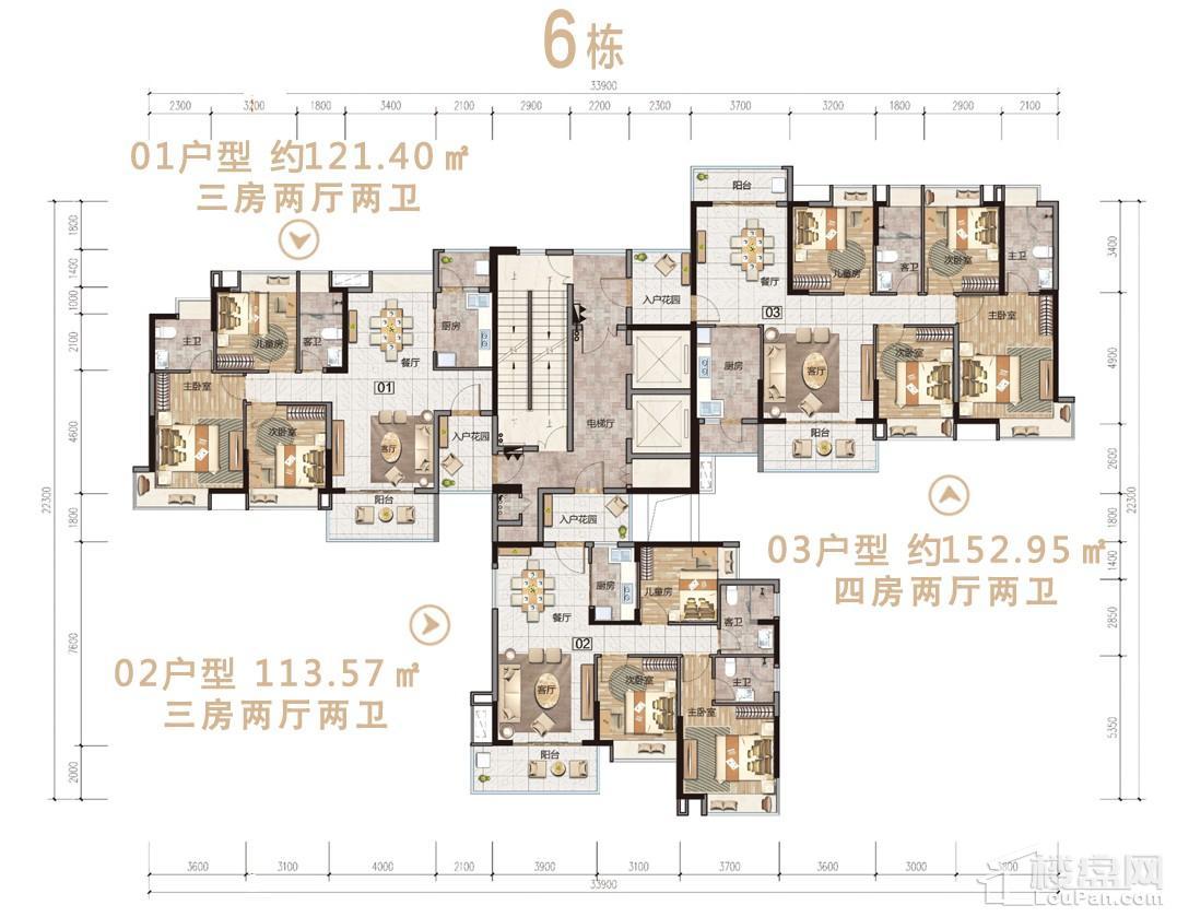 沙湖绿洲6栋户型图